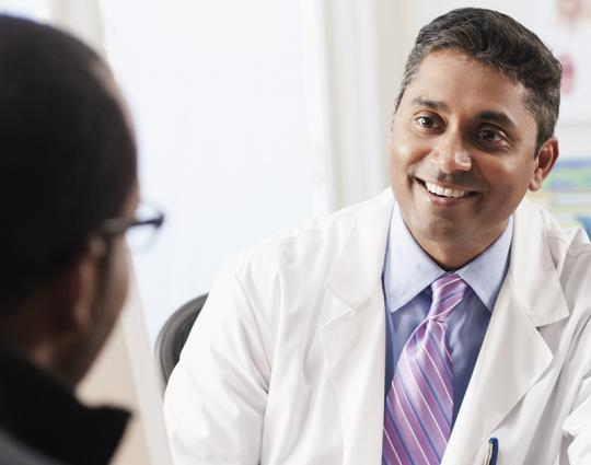 A positive doctor-patient relationship
