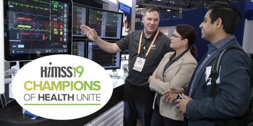 Champions of Health Unite at HIMSS19