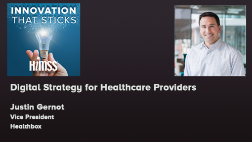 Episode #50 Digital Strategy for Healthcare Providers