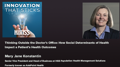 Episode #54:Thinking Outside the Doctor's Office: How Social Determinants of Health Impact a Patient's Health Outcomes