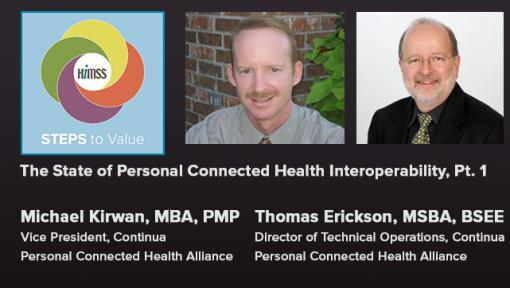Episode #57: The State of Personal Connected Health Interoperability, Pt. 1