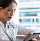 A provider affected by physician burnout